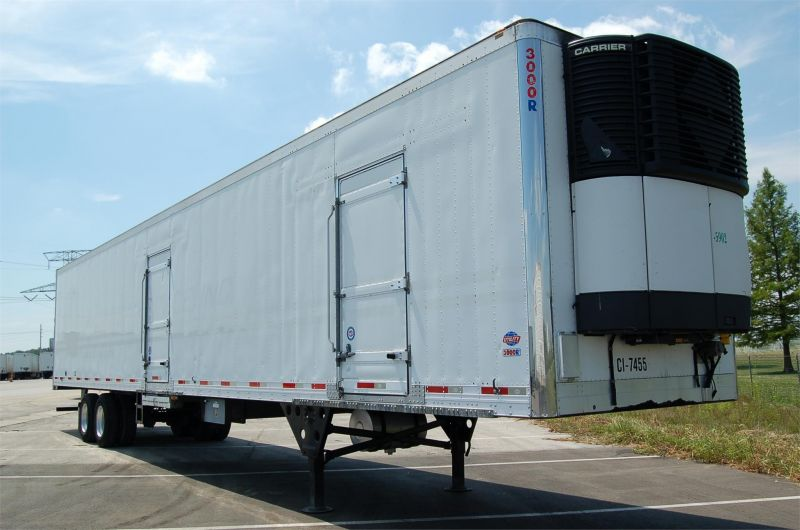 2008 UTILITY (3) ZONE MULTI-TEMP REFRIGERATED TRAILER 3018195844