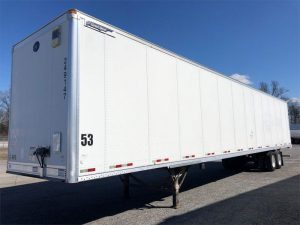 2012 GREAT DANE VAN BLUE LABEL PLATE TRAILER 6002473557